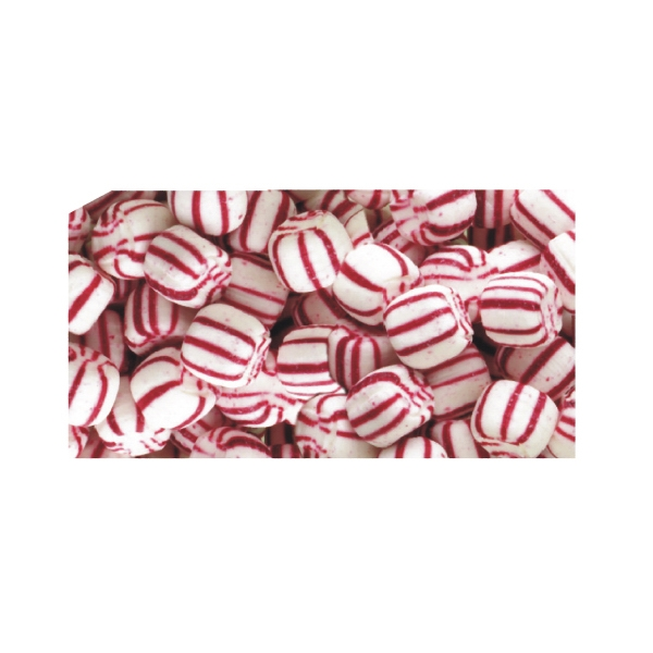 Soft Candy Peppermints In A Stock Design Wrapper Photo