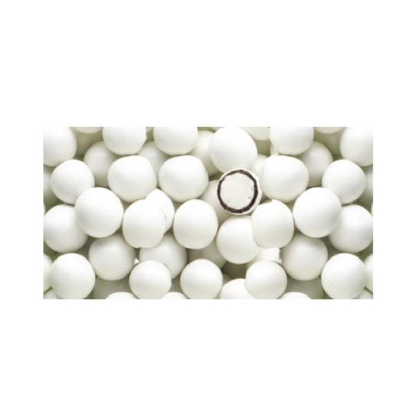 White Gourmet Chocolate Mints Soft Candy With An Individual Customized Film Wrapper Photo