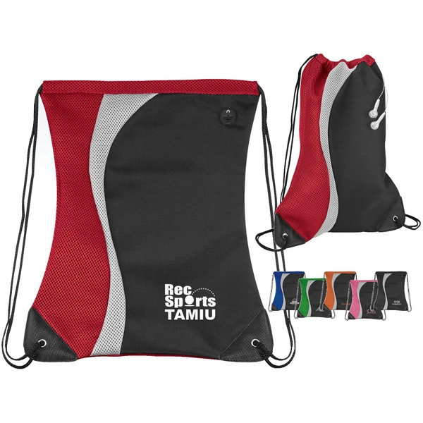 Color Splash - Sport Pack With Colored Design And Air Mesh Back Photo