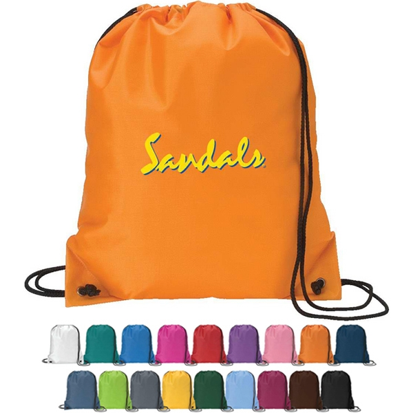 Silkscreen - Drawstring Sport Pack Bag With Reinforced Corner Photo