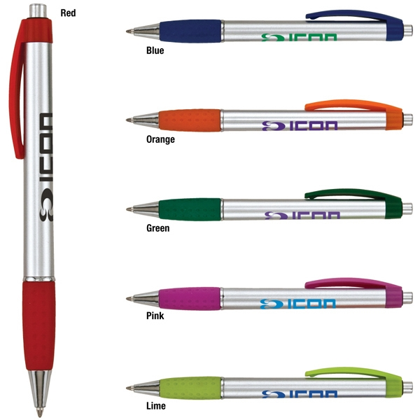Achieva - Catalog 5-7 Day Production - Ballpoint Pen With Chrome Accent Photo