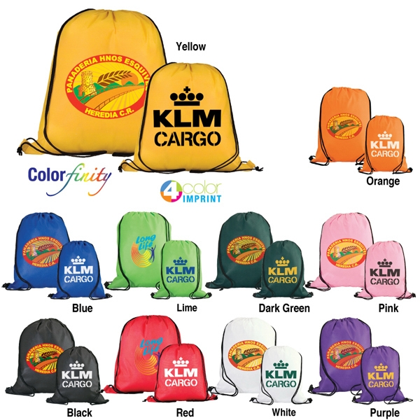 Catalog 5-7 Day Production - Drawstring Backpack Made From 80gsm Non-woven Polypropylene Photo