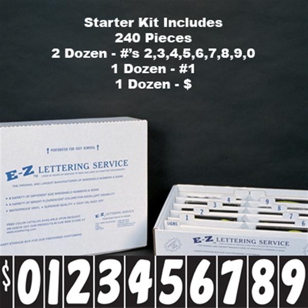 """7.5"""" Black and White Starter Kit"""