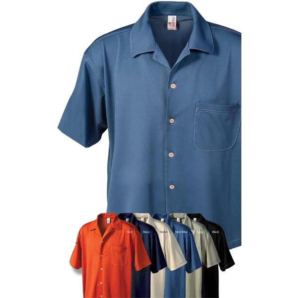 Men's Aqua-Dry® Knit Camp Shirt