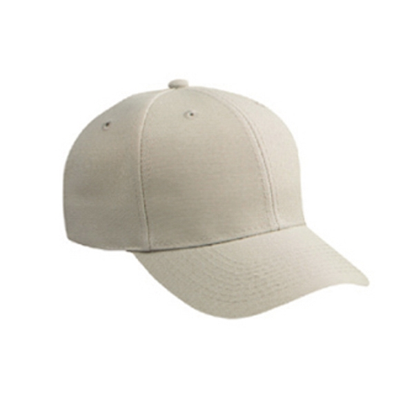 Low Fitting, Polyester/alternative Wool Blend Six Panel Pro Style Cap. Blank Photo