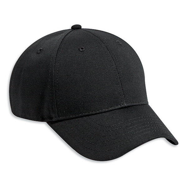 Low Fitting, Cotton Canvas Solid Color Six Panel Low Profile Pro Style Cap. Blank Photo
