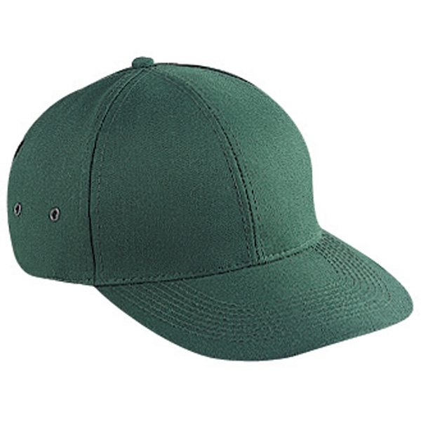 Structured, Solid Colors, Sport Pro Style Cap With Firm Front Panel. Blank Photo