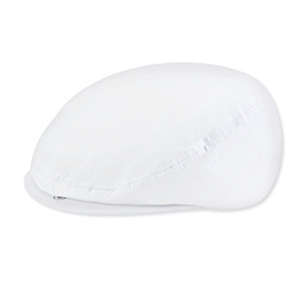 Polyester/cotton Poplin Ivy Cap With Plastic Snap Closure. Blank Photo