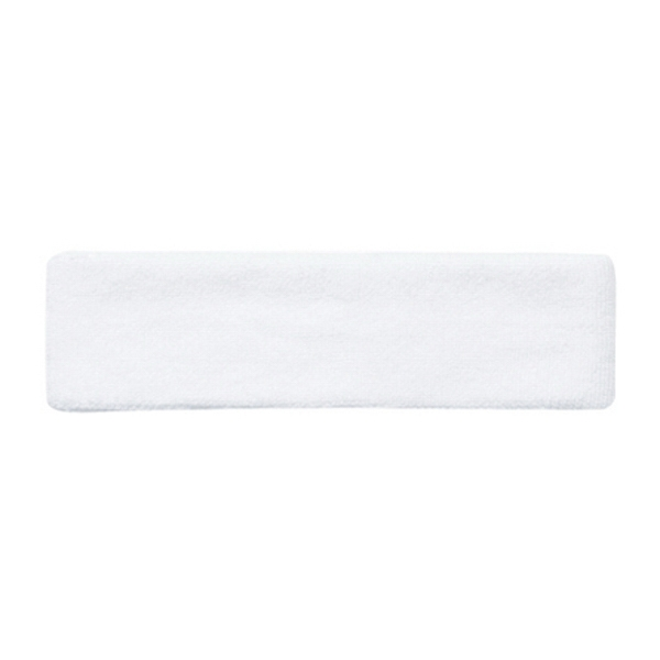 Terry Cloth Solid Color Headband. Blank Photo
