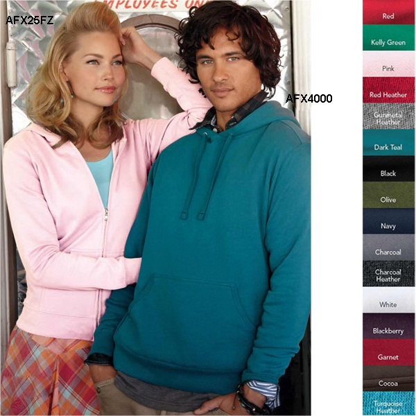 Independent Trading Co. (r) - S- X L - Pre-laundered, 6.5 Oz. 80% Cotton/20% Polyester Hood Pullover Sweatshirt. Blank Photo