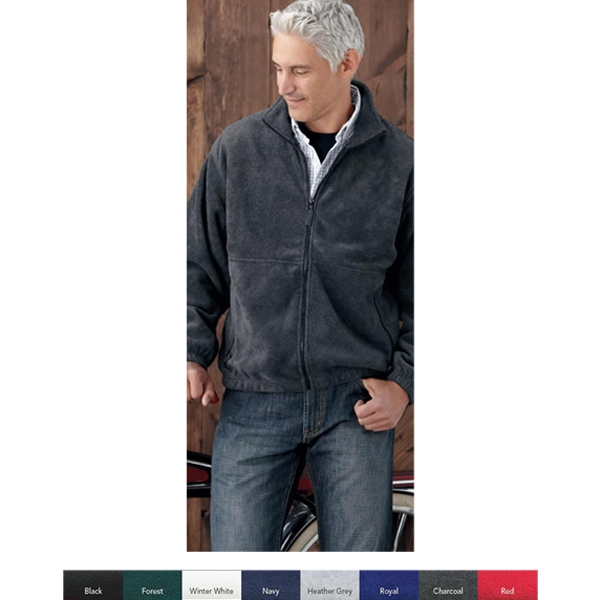 Sierra Pacific (r) - S- X L - Full Zip Fleece Jacket. Blank Product Photo
