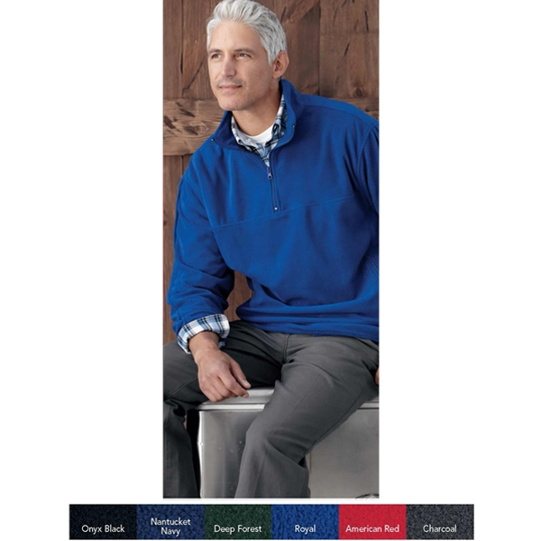 Sierra Pacific (r) - 2 X L - 3 X L - Moisture Resistant Microfleece 1/4-zip Jacket. Blank Product Photo