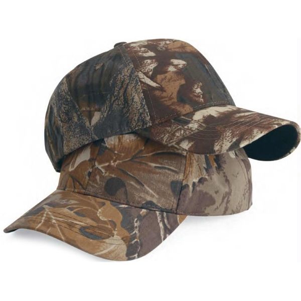 Outdoor Cap (r) - Camouflage Classic Solid Cap. Blank Product Photo