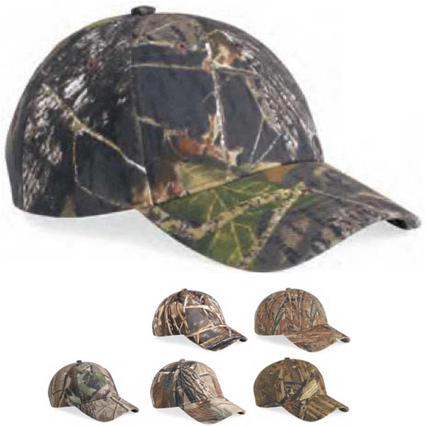 Kati - Structured Camo Cap Made Of 100% Cotton Twill. Blank Product Photo