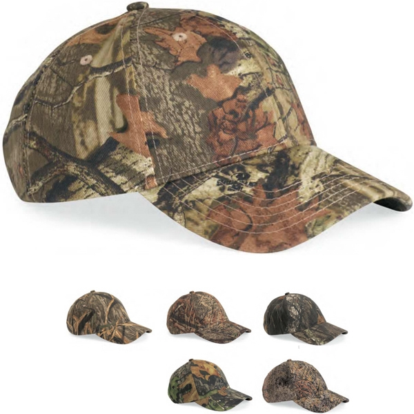 Kati - Mossy Oak (r) Infinity - Structured, Mid-profile Mossy Oak Camouflage Cap. Blank Product Photo