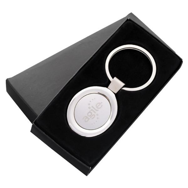 "Oval Key Tag, 3 1/8"" X 1 3/8"" Photo"