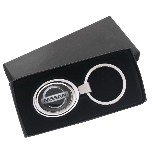 "N-dome (tm) - Key Tag In Oval Shape. 3 1/8"" X 1 3/8"" Photo"