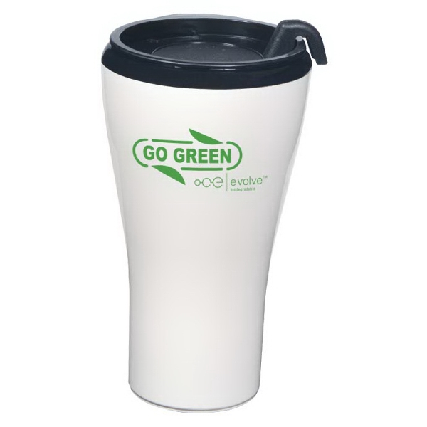 Evolve (tm) Gt - Biodegradable 16 Oz Tumble With 16 Oz. With Snap On Lid. Made In The U.s.a Photo