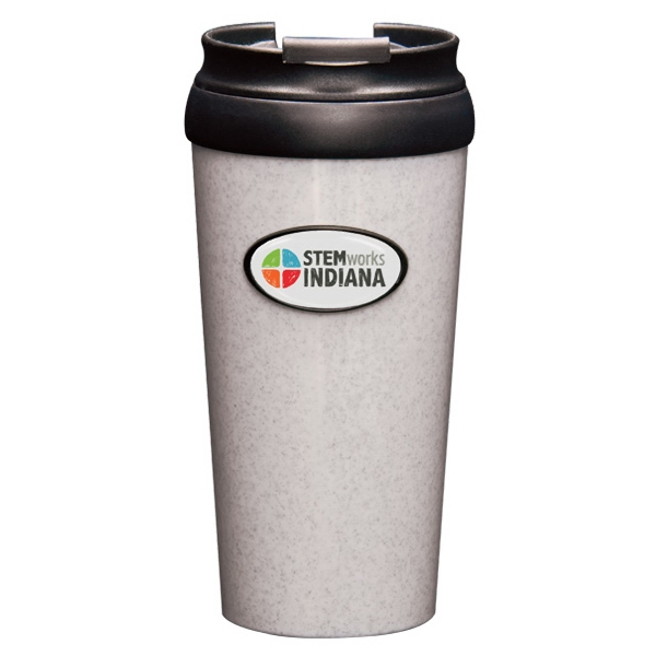 Horizon N-dome (tm) - Tumbler, 16 Oz Double Walled Construction With Spill Resistant Lid Photo