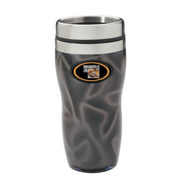 Reflections N-dome (tm) - Double-walled Tumbler With 16 Oz Capacity And Spill-resistant Lid Photo