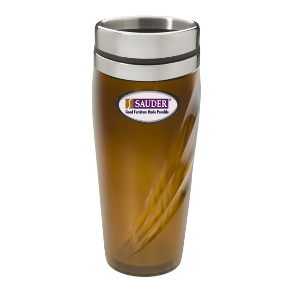 Mystic N-dome (tm) - Tumbler With Press-fit ,spill Resistant Thumb Slide Lid. 18 Oz. Capacity Photo