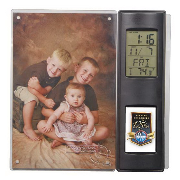 "N-dome (tm) - Photo Frame With Built-in Easel Stand, Features A Vertical 4"" X 6"" Photo Photo"