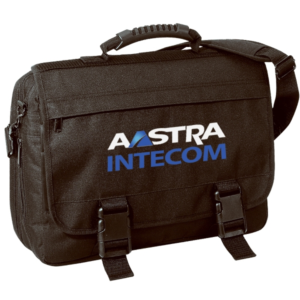 Embroidery - Expandable Computer Carrier Brief Bag Made Of 600-denier Polyester Photo