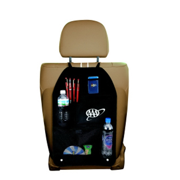 Polyester Car Organizer Has Various Pockets To Store Personal Belongings Photo