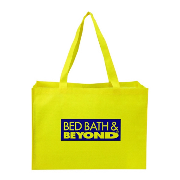 "Silkscreen - Non-woven Tote Bag, 22"" X 10"" X 16"" (all 3 Sides) Photo"
