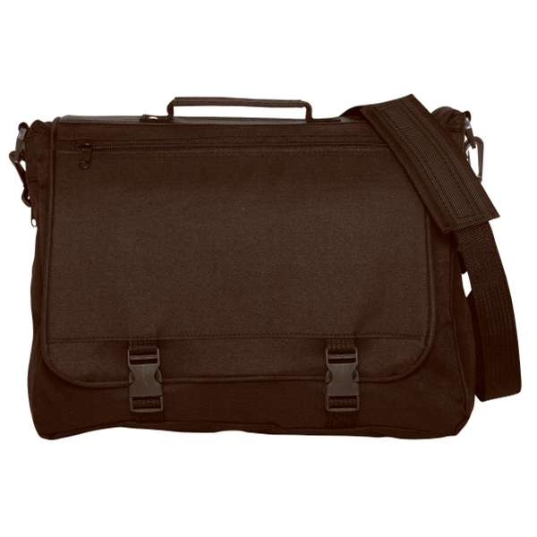Silkscreen - Expandable 600-denier Polyester Brief Bag With Adjustable/detachable Strap Photo