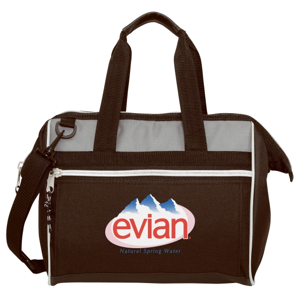 Silkscreen - Sports Cooler Tote Bag With Webbed Handles And Shoulder Strap Photo