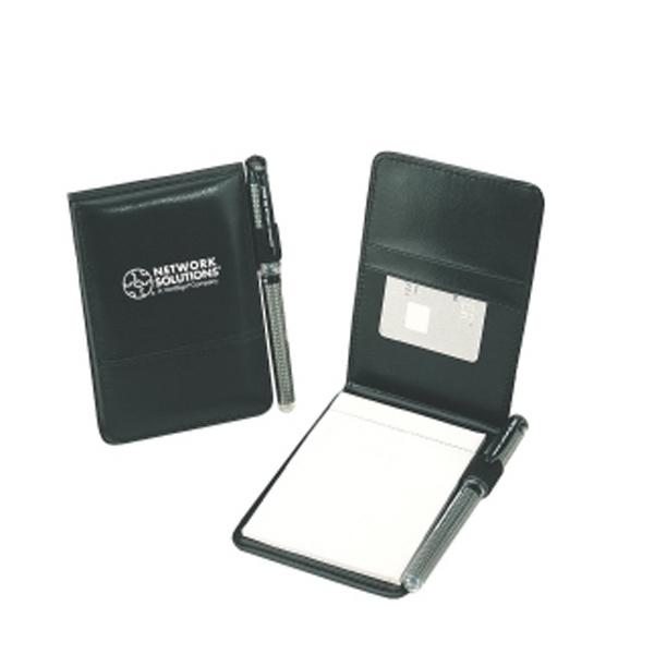 Silkscreen - Junior Jotting Pad Made Of Leather Like Vinyl Photo