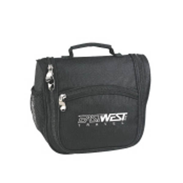 Silkscreen - Medium Polyester Travel Kit With Plenty Of Compartments For Travel Essentials Photo