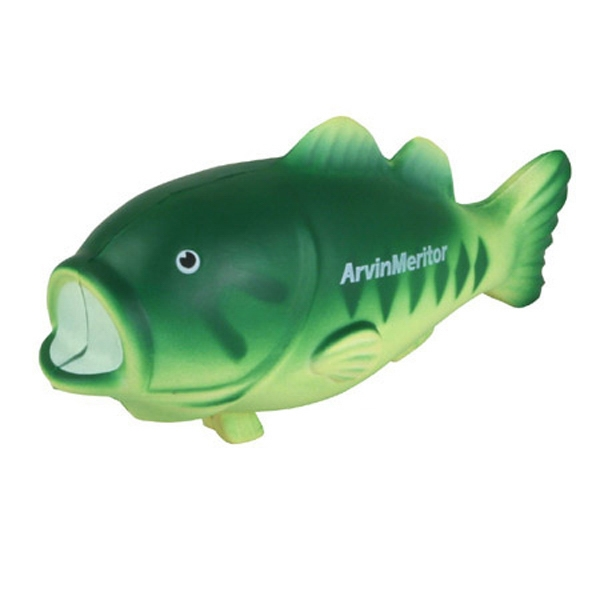 Bass Fish Shape Stress Reliever Photo