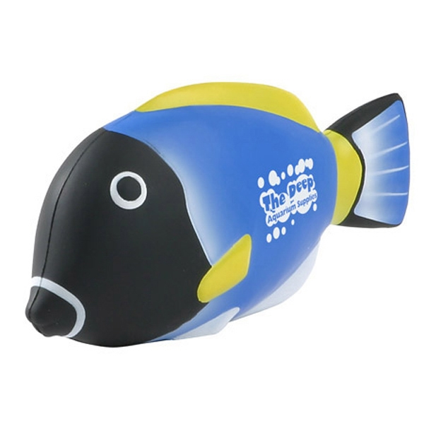 Stock Blue Tang Fish Shape Stress Reliever Photo