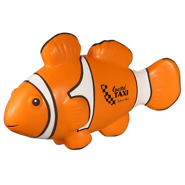 Clown Fish Shape Stress Reliever Photo