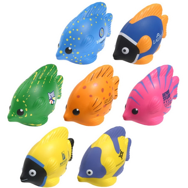Tropical Fish Shape Stress Reliever Photo