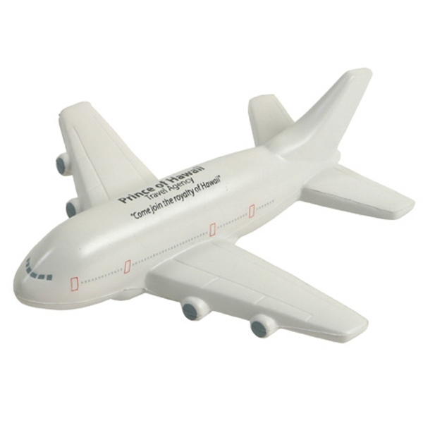 Passenger Airplane Shape Stress Reliever Photo