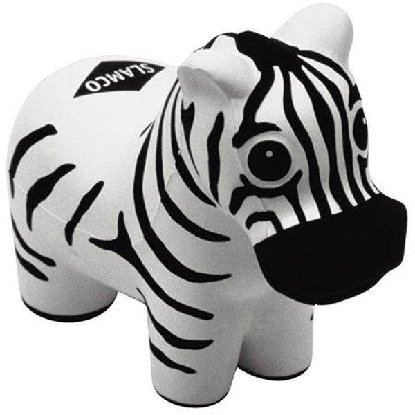 Zebra - Zoo Animal Shape Stress Reliever Photo