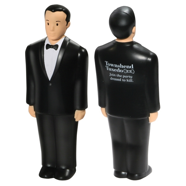 Groom Shape Stress Reliever Photo