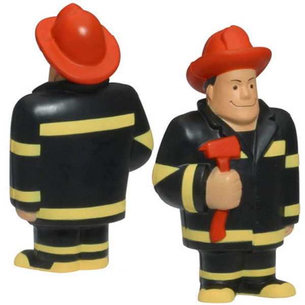 Fireman Shape Stress Reliever Photo