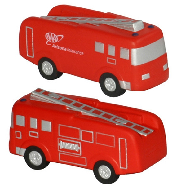 Fire Truck Shape Stress Reliever Photo