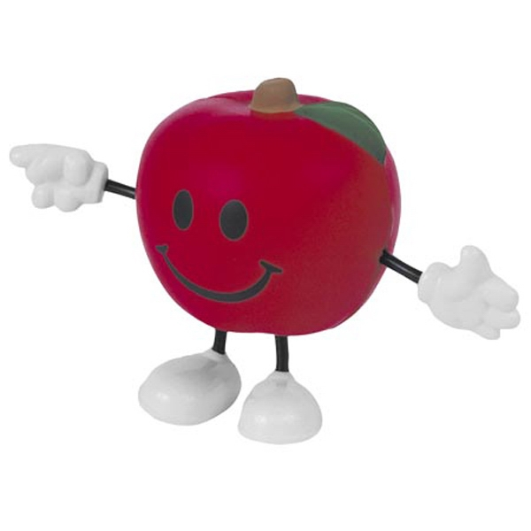 Apple Figure Shape Stress Reliever Photo