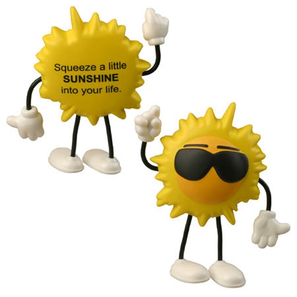 Cool Sun Figure Shape Stress Reliever Photo