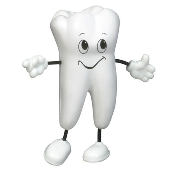 Tooth Shape Figure Stress Reliever Photo