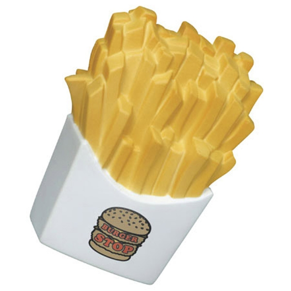 French Fries - Food Shape Stress Reliever Photo