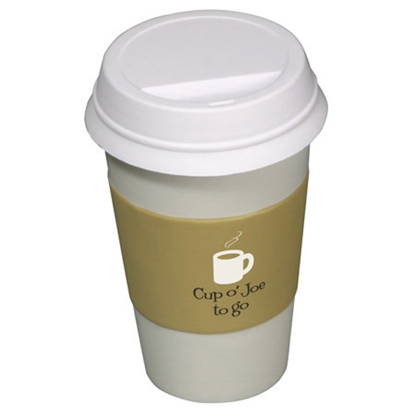 To Go Coffee Cup Shape Stress Reliever Photo