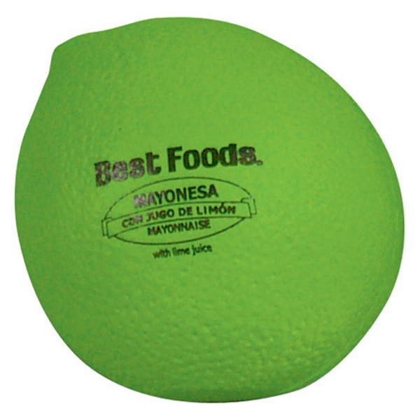 "Lime - Fruit Shape Stress Reliever, 2 1/2"" Diameter X 3"" Photo"