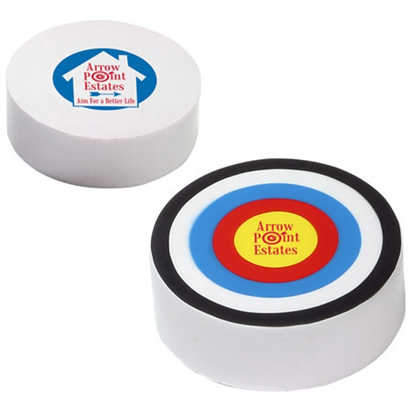 "Bullseye Stress Reliever. 2 7/8"" Diameter X 1"" Photo"