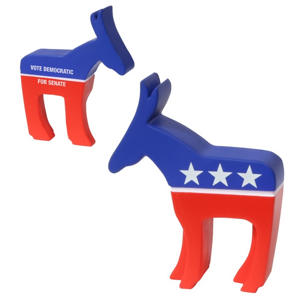 Democratic Donkey Shape Stress Reliever Photo